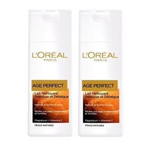 L'Oréal Lait Démaquillant Age Perfect - Le flacon de 200ml