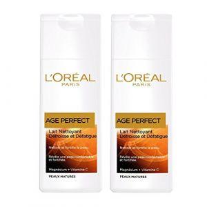 L'Oréal Lait Démaquillant Age Perfect - Le flacon de 200ml