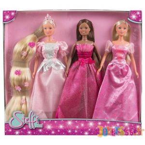 Simba Toys Steffi Love Coffret 3 Princesses