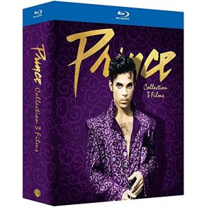 Coffret Prince 3 films : Purple Rain + Under the Cherry Moon + Graffiti Bridge