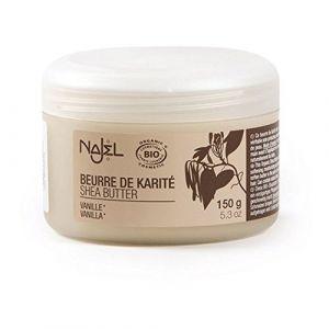 Najel Beurre de Karité au Parfum Vanille, 150 g