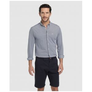 Gant (marque) Relaxed Twill Shorts, Bleu (Marine), (Taille Fabricant: 32) Homme