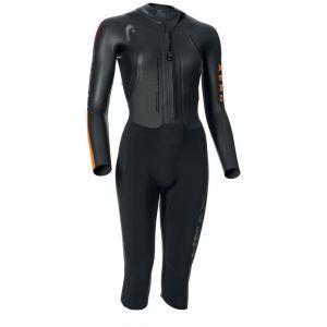 Head Swimrun Aero 4.2.1 - Femme - noir SM Combinaisons triathlon