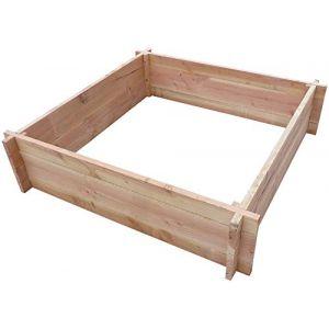 Carré potager en bois de douglas CIHB