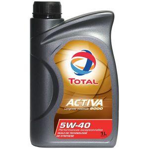 Total Huile Moteur 5W40 Activa 9000 1L