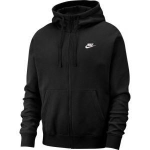 Nike Sweat-shirt M Club Hoodie FZ BB Noir - Taille EU S,EU M,EU L,EU XL