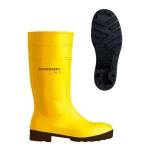 Dunlop Botte de sécurité Prougeomaster S5Taille 48 jaune