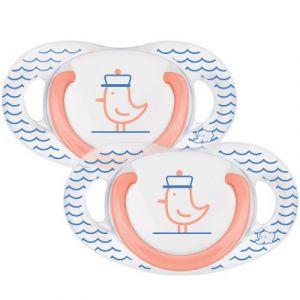 Bébé Confort 2 sucettes natural physio latex 6-18 mois