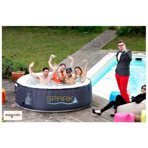 Spark SPARK04 - Spa gonflable luxe 6 personnes 1000 litres