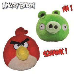 Giochi Preziosi Peluche animée Angry Birds 30 cm (couleur aléatoire)