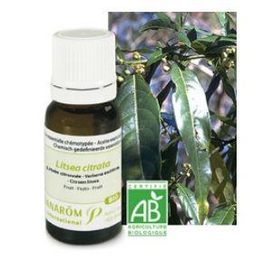 Pranarôm Litsee citronnée - Huile essentielle Bio (10 ml)