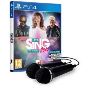 Let's Sing 2019: Hits Français et Internationaux - 2 Micros [PS4]