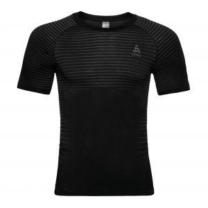 Odlo SUW Top Crew Neck S/S Performance Light - Sous-vêtement synthétique taille XL, noir