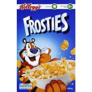 Kellogg's Frosties - Pétales de maïs glacés au sucre - Le paquet de 400g