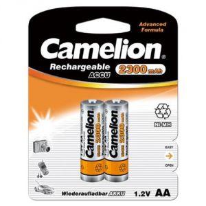 Camelion Lot de 4 accus rechargeables NiMh Mignon AA 2300 mAh 1,2V