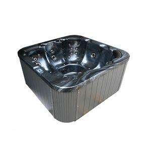 Beliani Whirlpool - spa - gris foncé - Sanremo