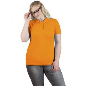 Promodoro Polo supérieur grandes tailles Femmes, XXXL, orange