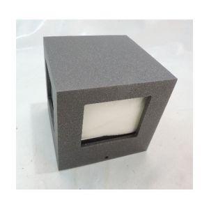Prisma Applique plafonnier anthracite cube 100X100X100mm 4 faisceaux lampe G9 40W max (non incl) 230V IP44 QUASAR 4W 700273