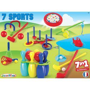 Ecoiffier Pack Sport de 7 jeux de plein air