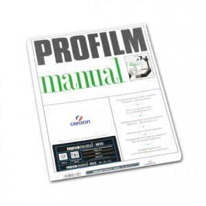 Canson 200987370 - Boîte 100 feuilles Profilm-manual A4 0.10mm, qualité MF