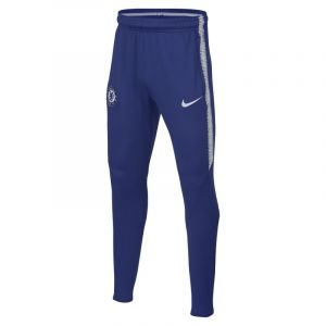 Nike Pantalon de football Chelsea FC Dri-FIT Squad pour Enfant plus âgé - Bleu - Taille M
