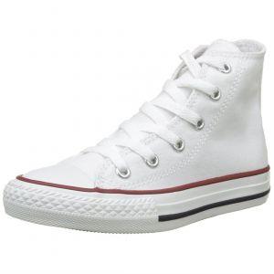 Converse Chuck Taylor All Star Hi toile Enfant-25-Blanc