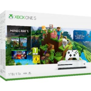 Microsoft Xbox One S 1To Minecraft