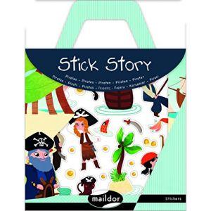 Maildor Stickers repositionnables Stick Story thème pirates
