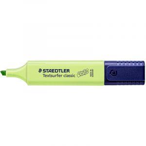 Staedtler Textsurfer Classic 364 Edition Colors ? Evidenziatore punta smussata 1 A 5 mm verde limone, 10 Pezzi
