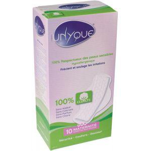 Unyque 10 serviettes maxi douceur maternité