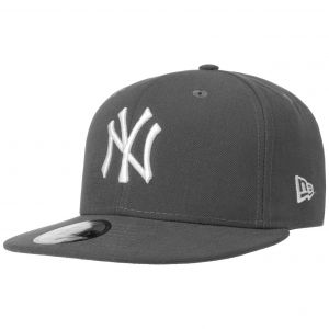 New era Cap 59FIFTY MLB Basic New York Yankees gris/white taille 7 3/8