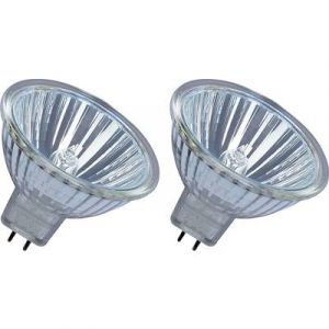 Osram Ampoule Halogène Verre 25 W GU5.3 Argent Set de 2
