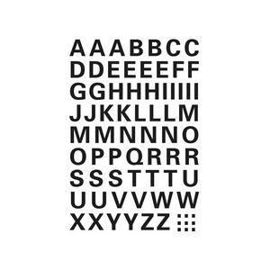 Herma 2 planches de lettres autocollantes A-Z (25 mm)