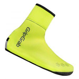 GripGrab Arctic Waterproof Hi-Vis Thermal Surchaussures hiver imperméables et haute visibilité, fluo yellow XXL Surchaussures & Guêtres