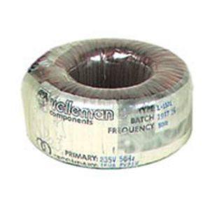Velleman 21014 50VA transformateur torique 2X18V/1,38A (5018)