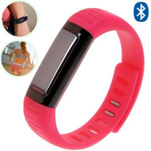 Yonis Bracelet connecté Bluetooth montre connectée podomètre anti vol
