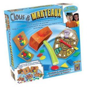 Creative Toys Jeu éducatif premier âge clous et marteau