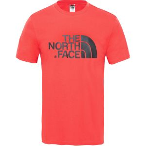 The North Face Easy Tee T- T-Shirt Homme, Rouge (Salsa Red), XL