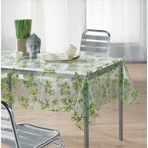 Bambou - Toile cirée cristal rectangulaire (140 x 240 cm)