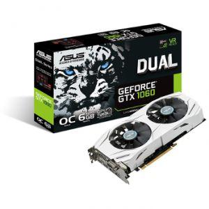 Asus DUAL-GTX1060-O6G - Carte Graphique GeForce GTX 1060