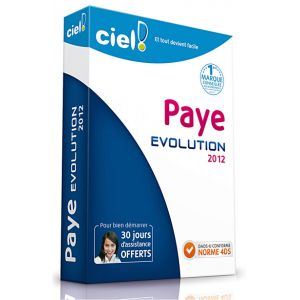 Paye Evolution 2012 pour Windows