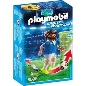Playmobil 6895 Sports et Actions - Joueur de foot Italien