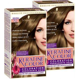 Schwarzkopf Coloration permanente soin, Blond foncé 7.0