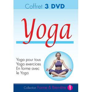 Coffret Yoga - 3 DVD