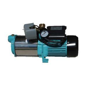 Omni Pompe d'arrosage POMPE DE JARDIN pour puits 2200W 160l/min avec interrupteur, manomètre