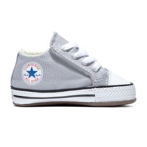 Converse Chuck Taylor All Star Cribster Canvas Mid - Baskets Enfant, Gris