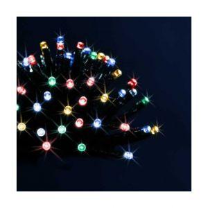 Guirlande lumineuse LED extérieure programmable - 40 mètres - blanc froid