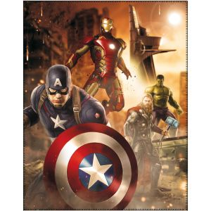 Cti Plaid polaire Avengers (110 x 140 cm)