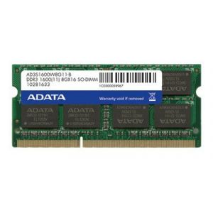 Adata ADDS1600W4G11-S - Premier Series DDR3L 4 Go SO DIMM 204 broches 1600 MHz / PC3L-12800 CL11