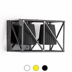 Seletti Applique Multilamp / L 38 cm noir en métal